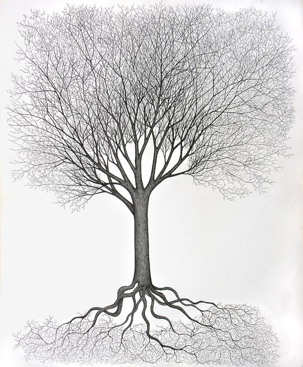 Tree of Life with Roots
